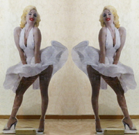 Work of Andrea Tirinnanzi  Marilyn Monroe